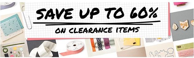 Stampin' Up!'s Clearance Rack - up to 60% off