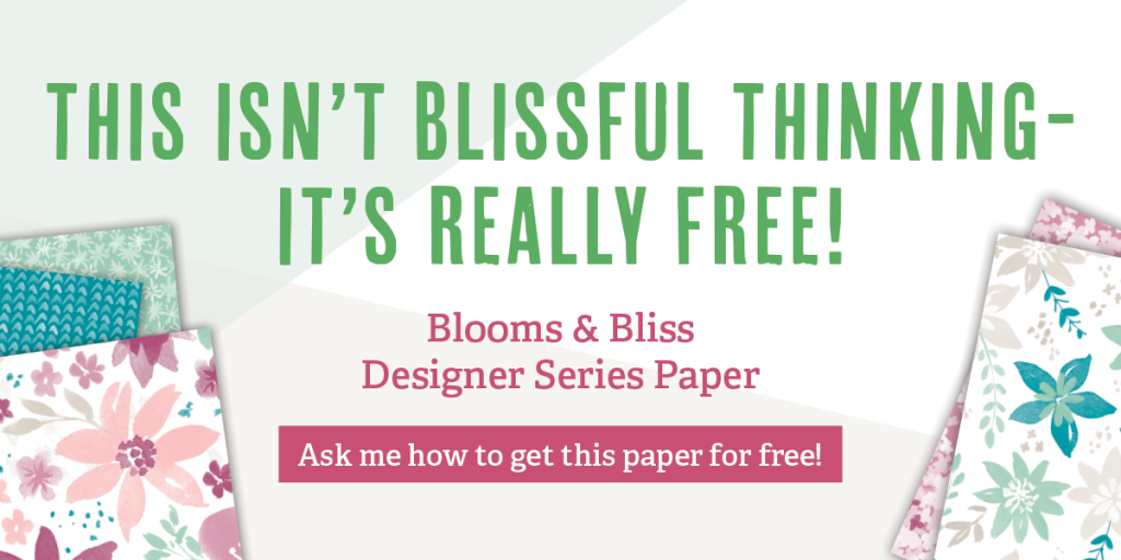Blooms & Bliss Designer Series Paper