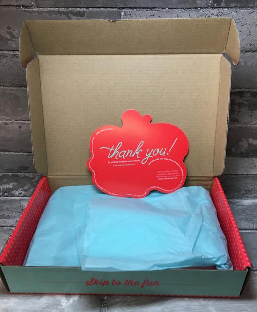 Paper Pumpkin box, just opened