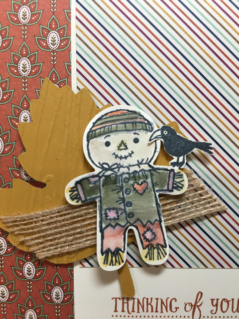 Close up of Cokkie Cutter Builder Punched Scarecrow