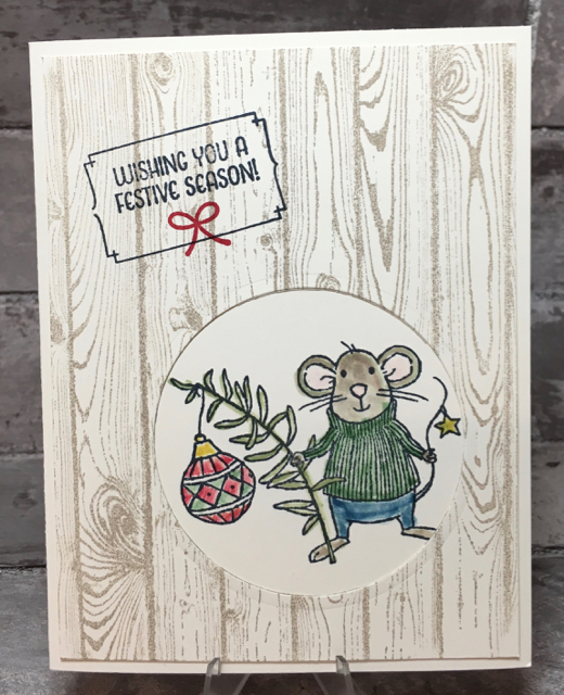 Card 4: Merry Mice