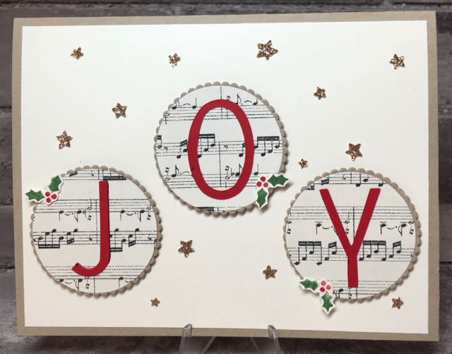 Card 8: Musical JOY