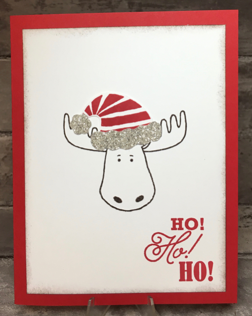 Card 1 Ho Ho Ho Christmoose