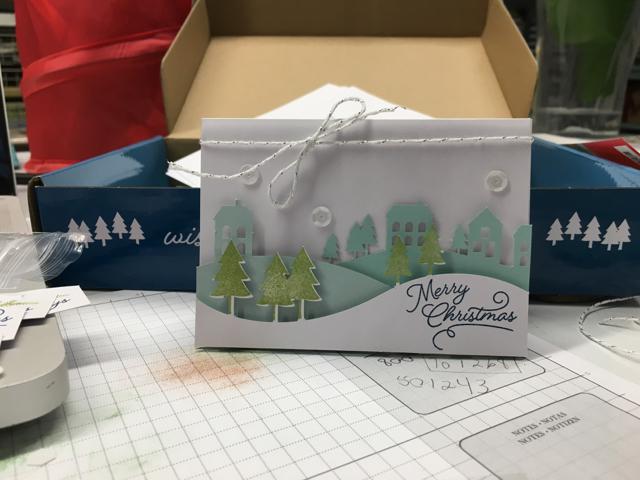 November's special Paper Pumpkin Box