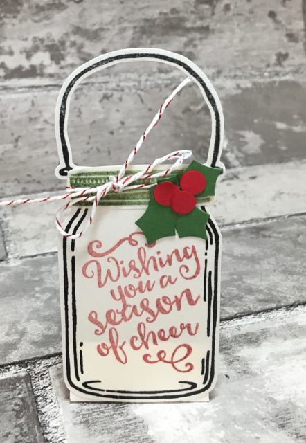 Season of Cheer Tea Light holder