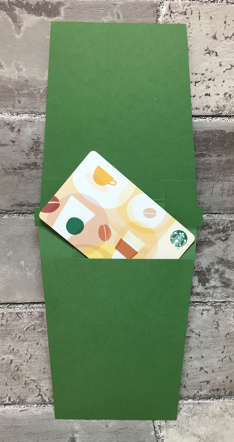 Coffee Cup Gift Card - inside