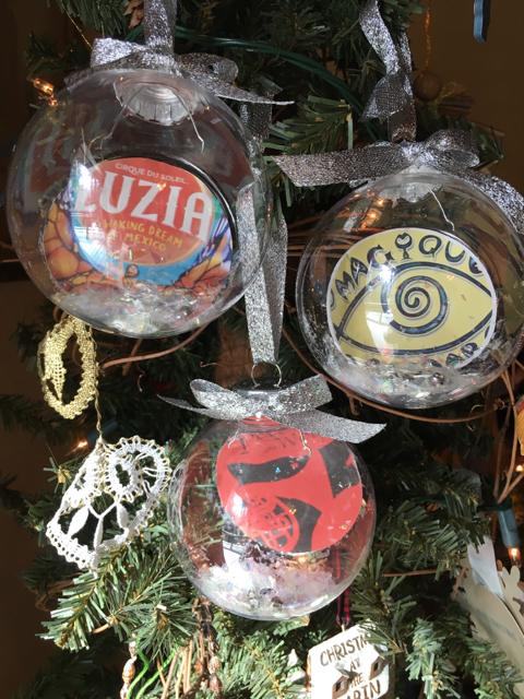plastic christmas ornaments