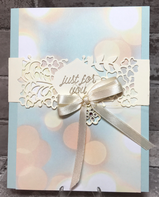 Just for you/falling in love many occasion card
