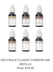 Neutrals Ink Refills, 140934, $16.50
