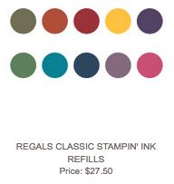Regals Ink Refills, $27.50