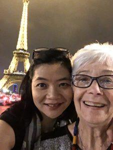 SaChau, former San Jose CA neighbor in Paris