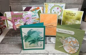 Dragonfly Dreams stamp set (142924)and Detailed Dragonfly Thinlits Dies (142749)