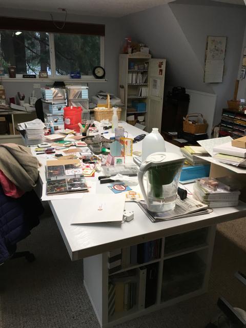 Blythe's Stampin' Studio - work in progress