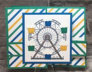 Carousel Birthday, 142829-w; 142832-c