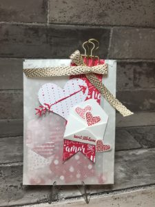 Love Notes Glassine Mini Treat Bag