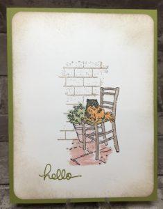 Hello Kitty, Mediterranean Moments Stamp Set