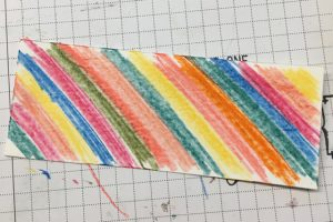 Watercolor color pencils (141709) scribble