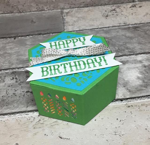 Happy Birthday Window Box Thinlits Box (142762)