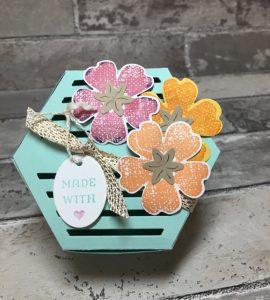 Window Box Thinlit Box with Flowers