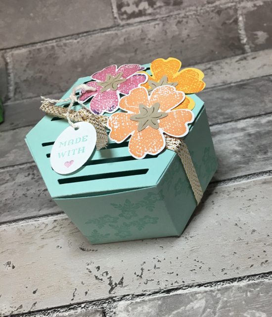 Window Box Thinlit Box with Flowers, 142762, $38