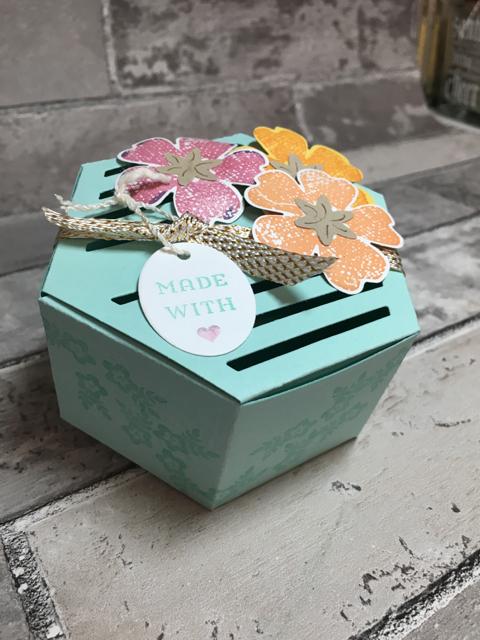Window Box Thinlit Box with Flowers, 142762, $38