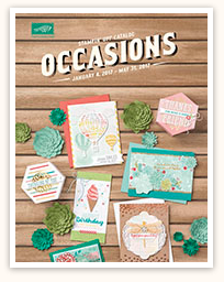 2017 Occasions Catalog by Stampin' Up!