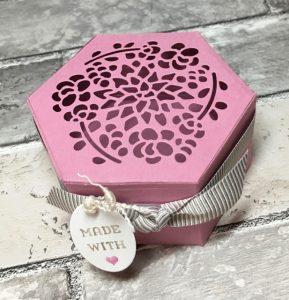 Sweet Sugarplum tealight Window Box