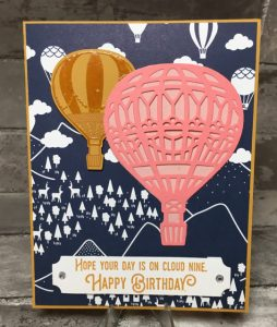 Stampin' Up!'s Lift Me Up stamp set, 142896 (clear) or 142893 (wood)