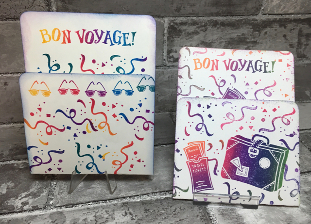 Bon Voyage stamp set, #9903, 1999-2000 SU! Catalog