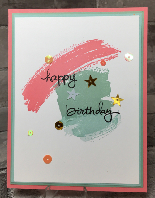Work of Art (134111) birthday card