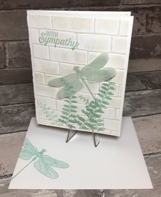 Sympathy card/envelope