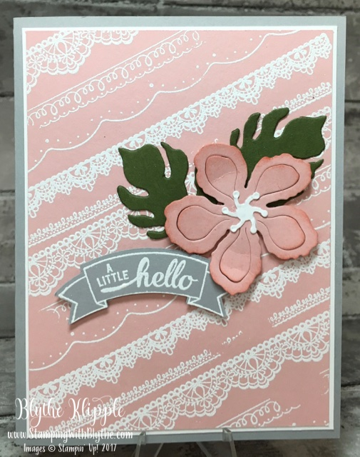 Delicate Details photopolymer stamp set from 2017 Sale-a-Bration