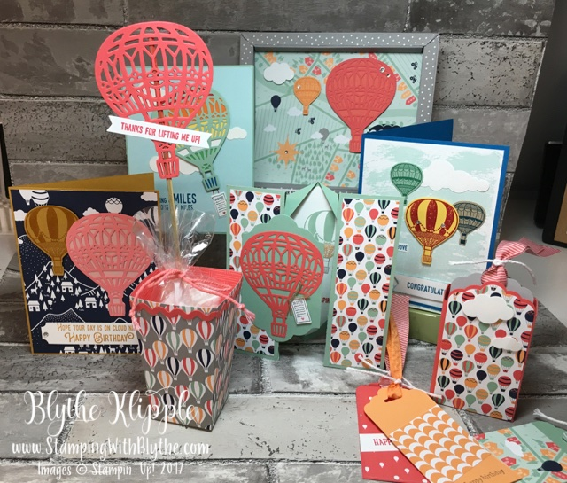 Carried Away Designer Series Paper (SAB 2017 + Lift Me Up Bundle (2017 Occ catalog)