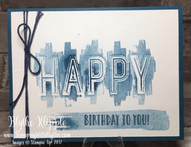 MARCH BUFFET CARD #6