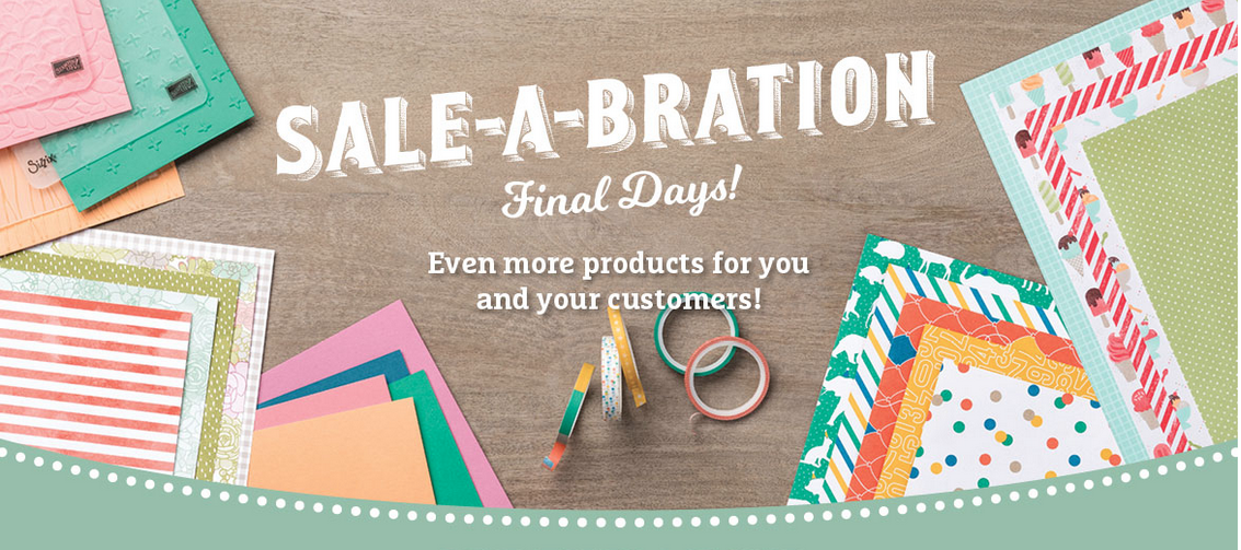 Final Days of Sale-a-Bration 2017 are here