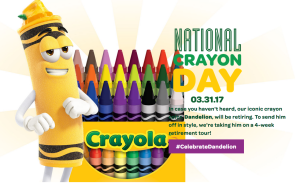 National Crayon Day announcement