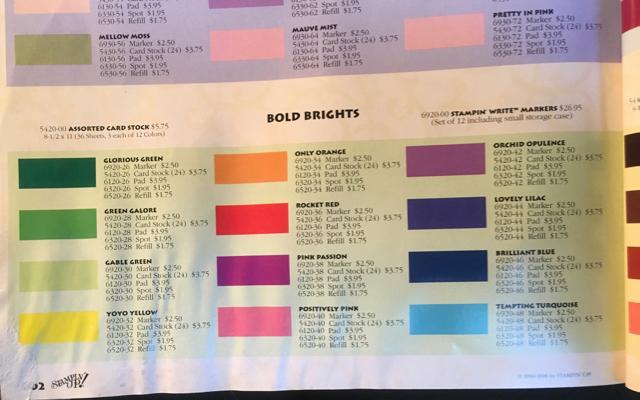 Bold Brights 1998-99