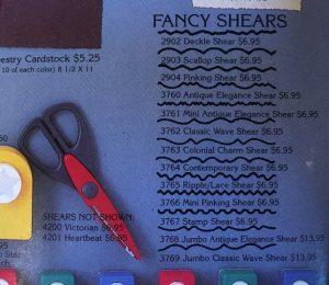 Fancy Shears