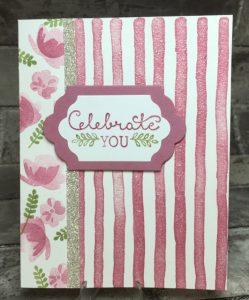 Celebrate You Card #7