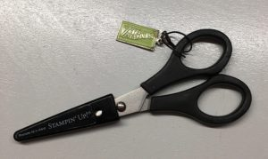 Paper Snips, match hole to LARGE rivet