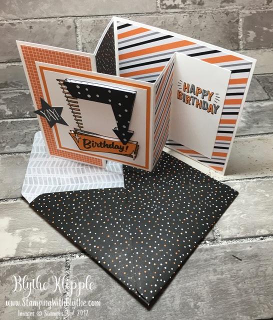 Austin's double z fold card w/envelope
