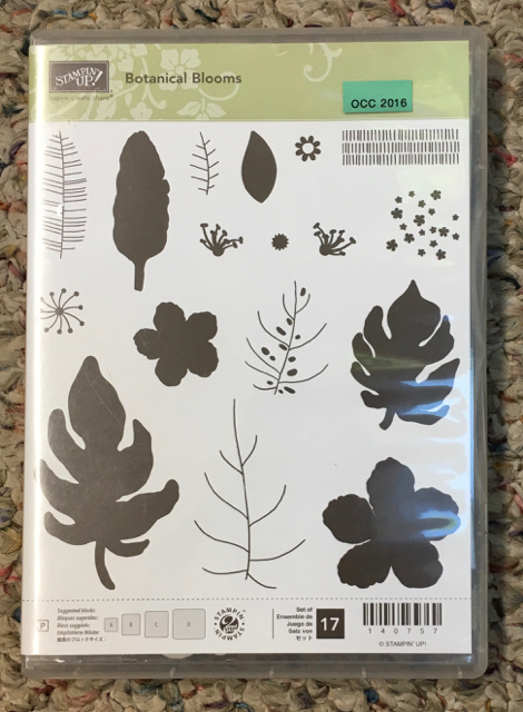 Botanical Blooms, retired from Annual Catalog 2017