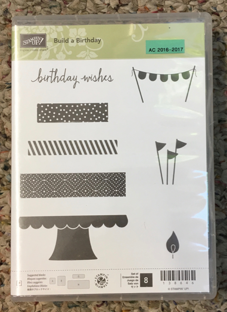 Build a Birthday, retired 2017 from Annual Catalog