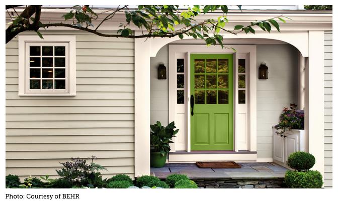 Front door accent color