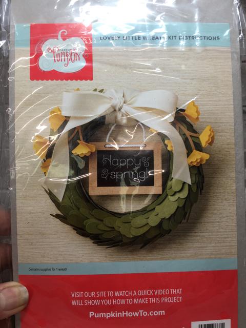 Lovely LIttle Wreath Kit