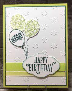 Happy Birthday added w/dimensionals