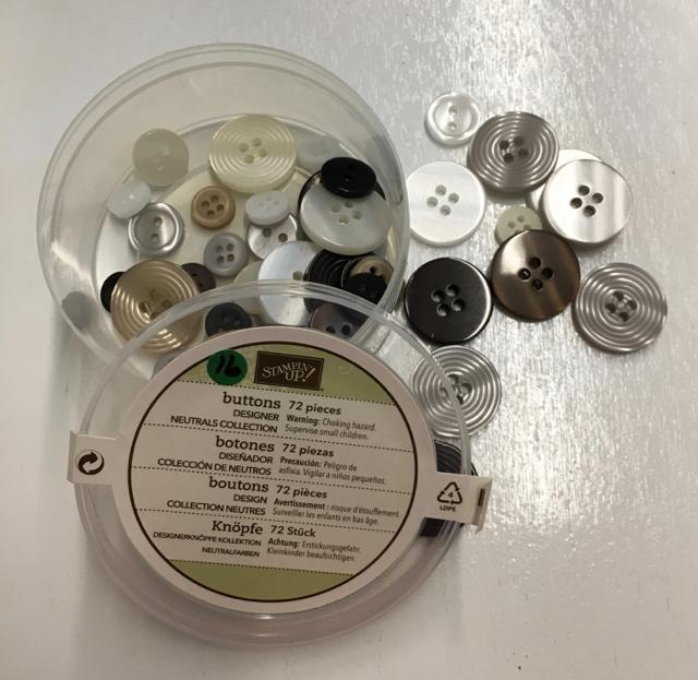 Neutrals buttons