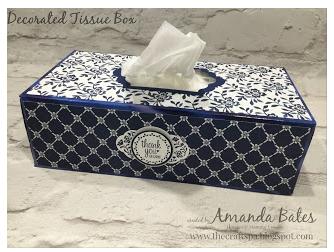 Amanda Bates' tissue box inspiration