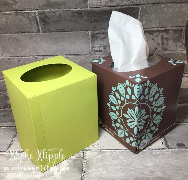 Tissue box & cover