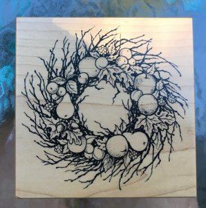 "PSX - Fruit Wreath, 4-1/4"" x 4-1/4"""